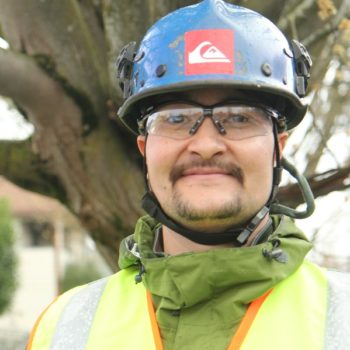 Dylan Saito, Professional arborist & long-time Friends of Trees volunteer